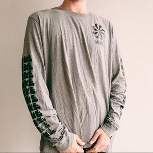 Men's Nike grey long sleeve